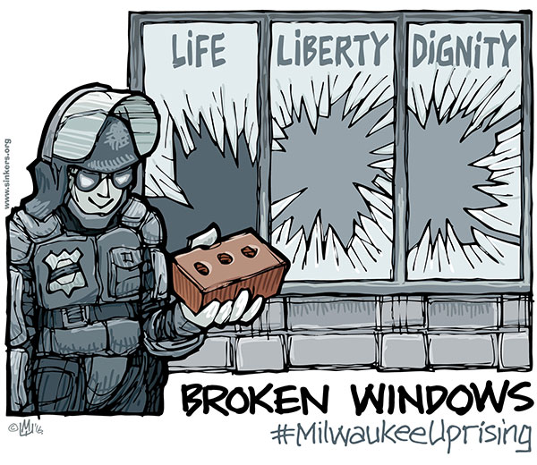 analysis of broken windows policing in milwaukee