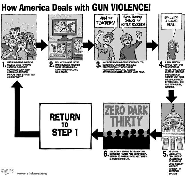 Mike Flugennock: Political Cartoons » Sandy Hook