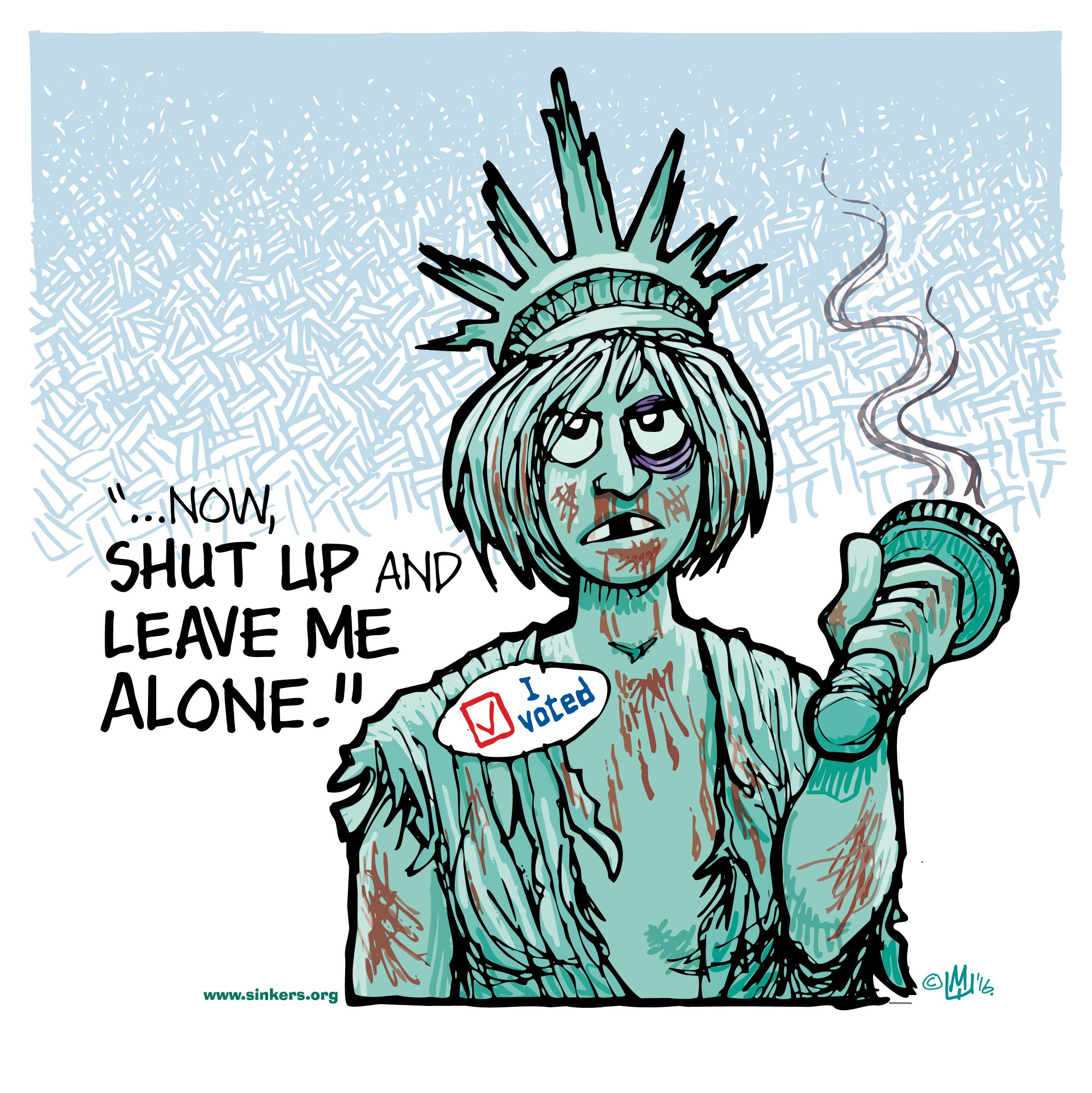 mike flugennock political cartoons oligarchy