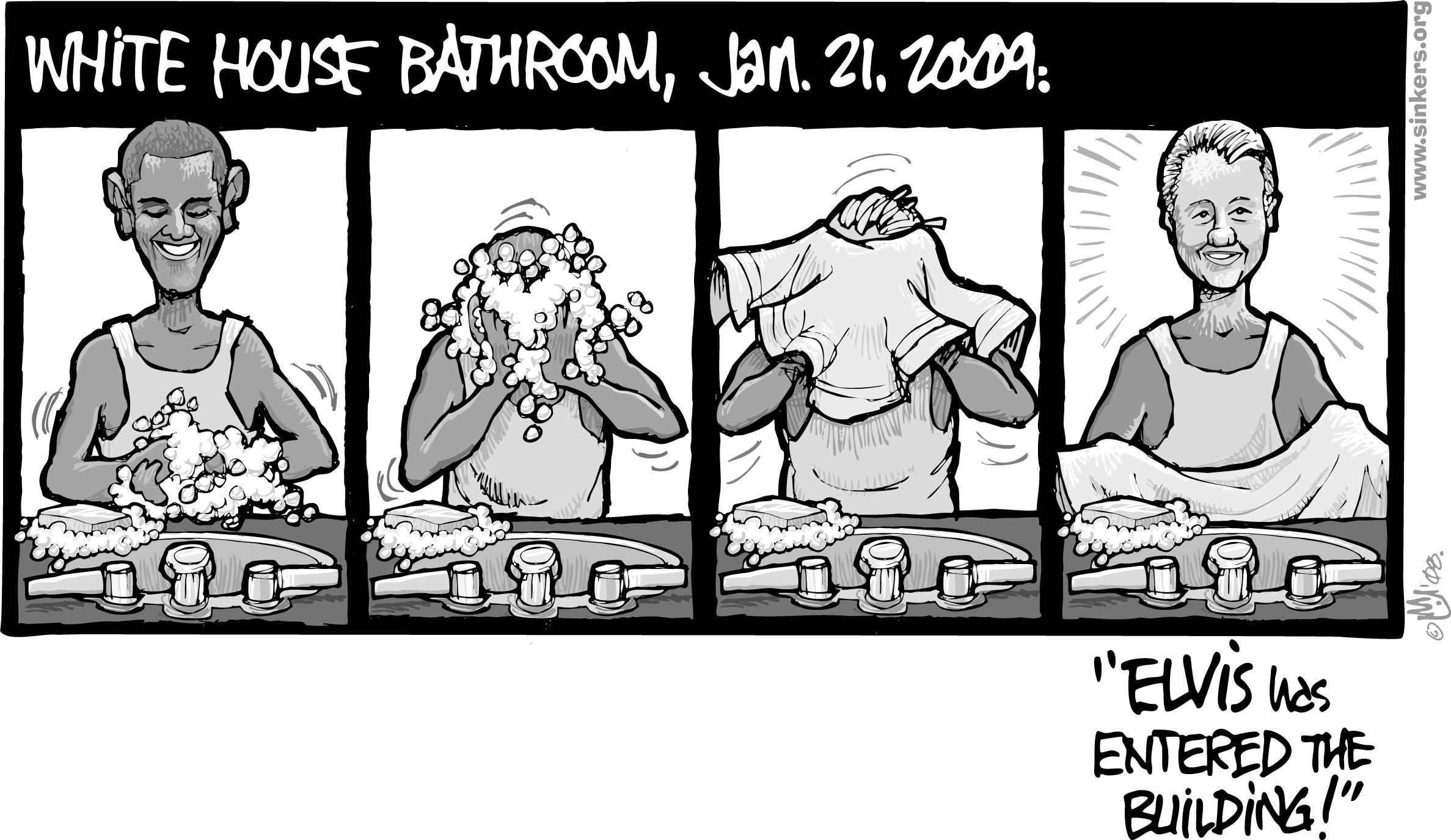 White house bathroom - Medium Res Jpg Image 584k